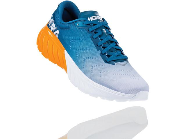 Hoka One One Mach 2 Buty do biegania Mężczyźni, corsair blue/bright marigold